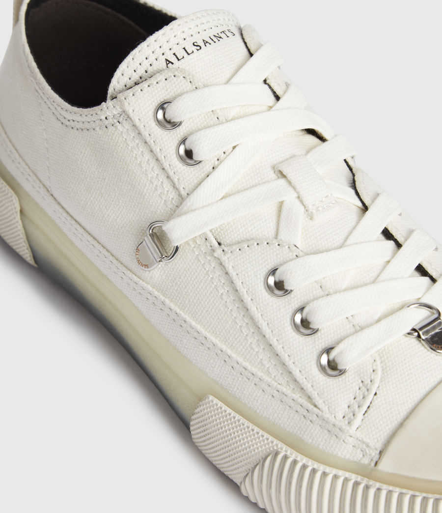Women's Jazmin Canvas Low Top Trainers (off_white) - Image 2