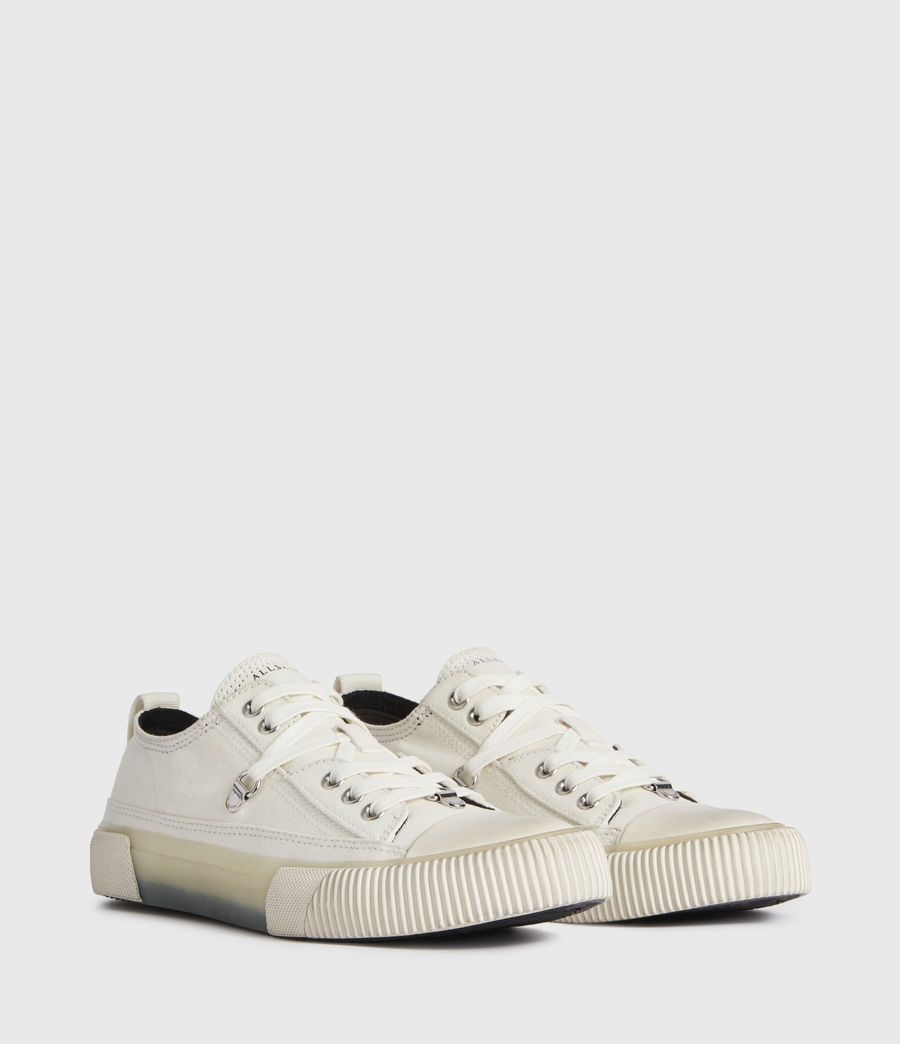 Women's Jazmin Canvas Low Top Trainers (off_white) - Image 3