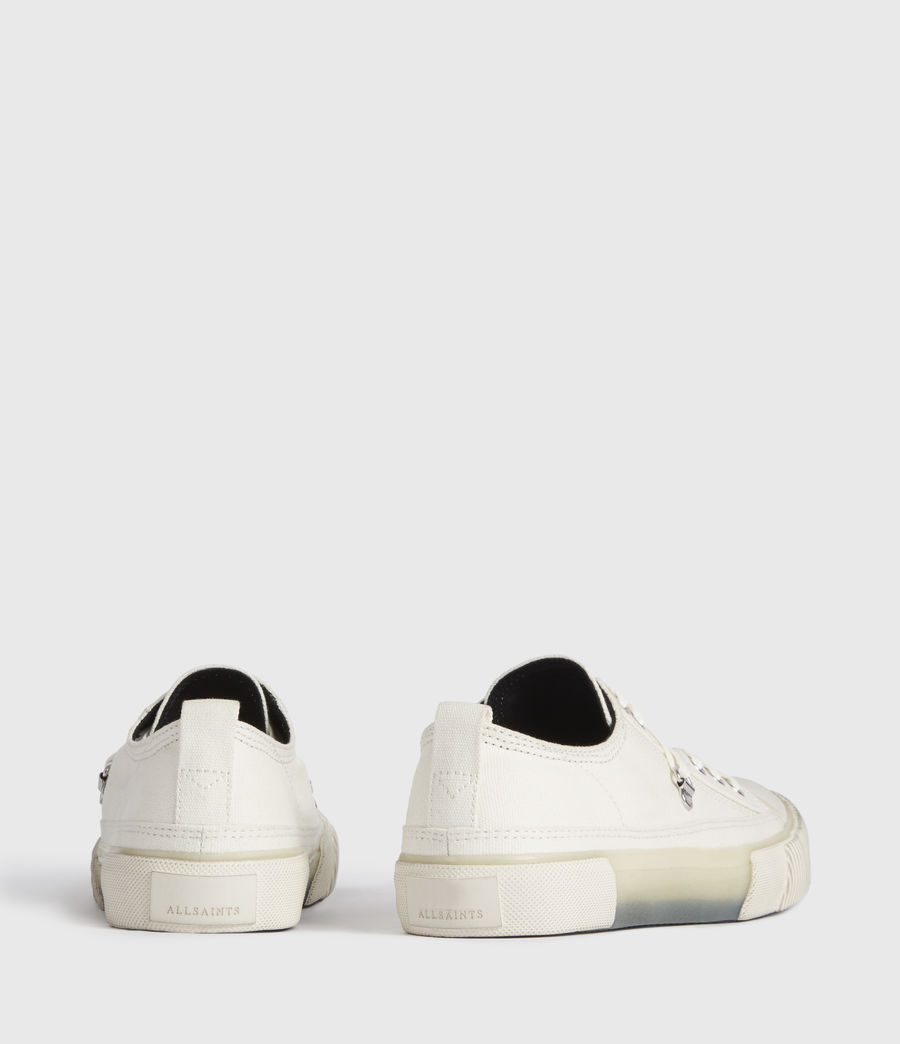 Women's Jazmin Canvas Low Top Trainers (off_white) - Image 5