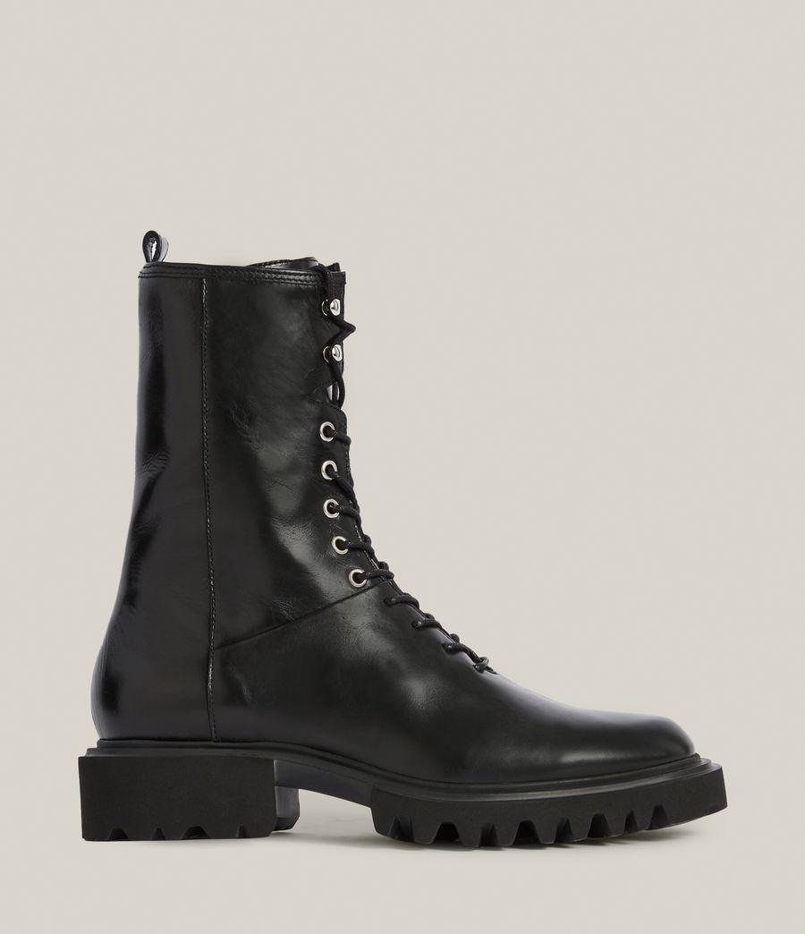 Women's Maren Leather Boots (black) - Image 1