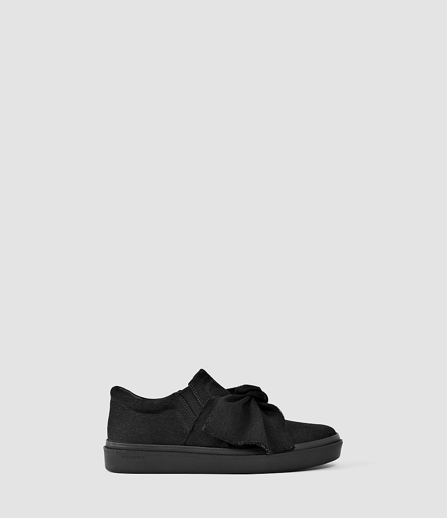 Mujer Zale Low Top (washed_black) - Image 1
