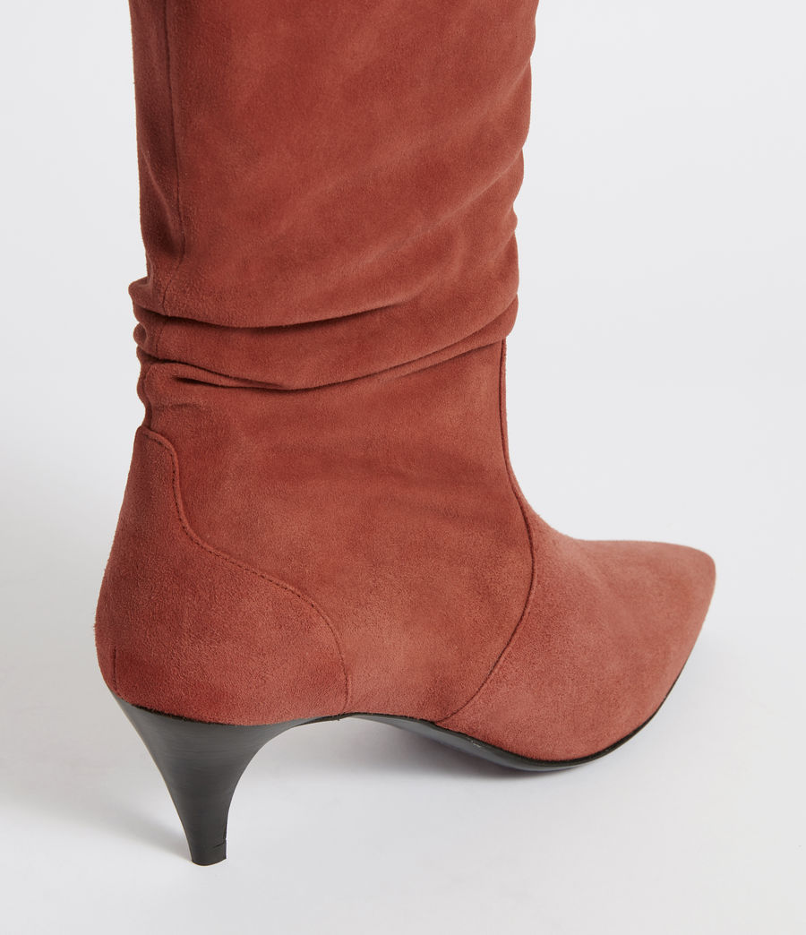 Womens Asla Boot (tuscan_red) - Image 6