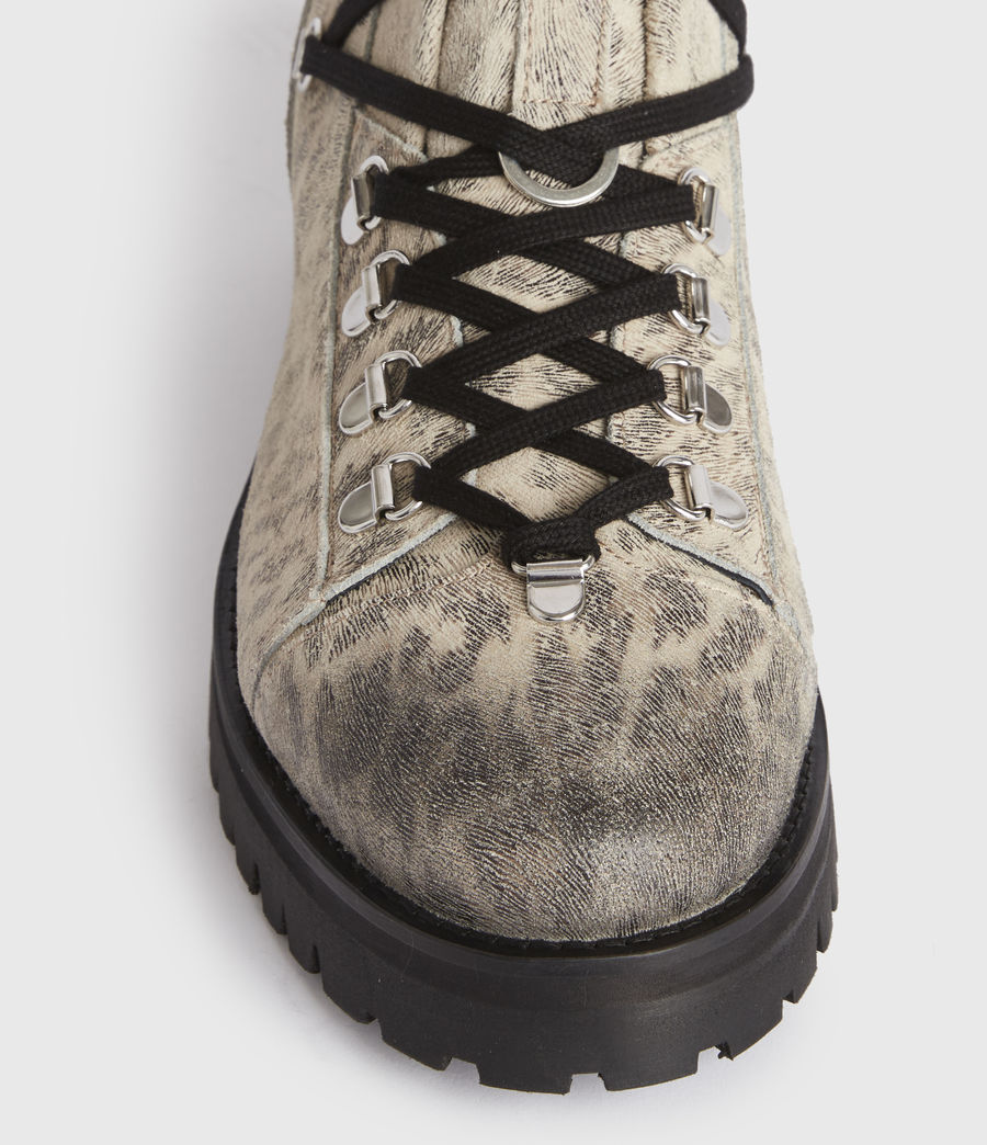 Women's Lia Leather Boots (leopard) - Image 2