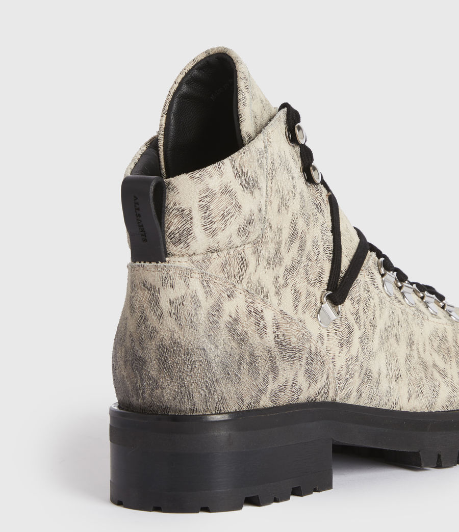 Women's Lia Leather Boots (leopard) - Image 5
