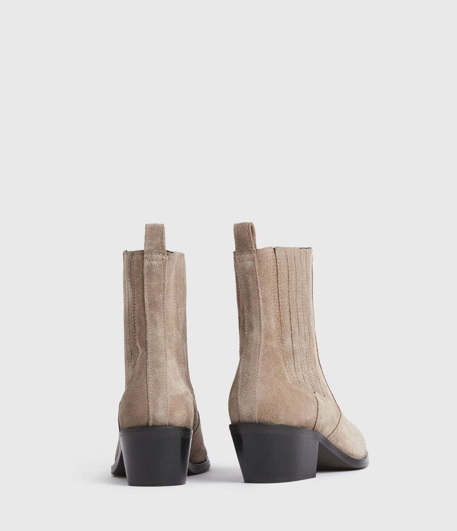 Mujer Miriam Suede Boots (taupe) - Image 5