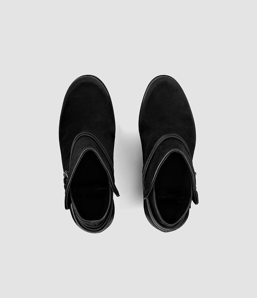Femmes Bottines Victoria (black) - Image 4