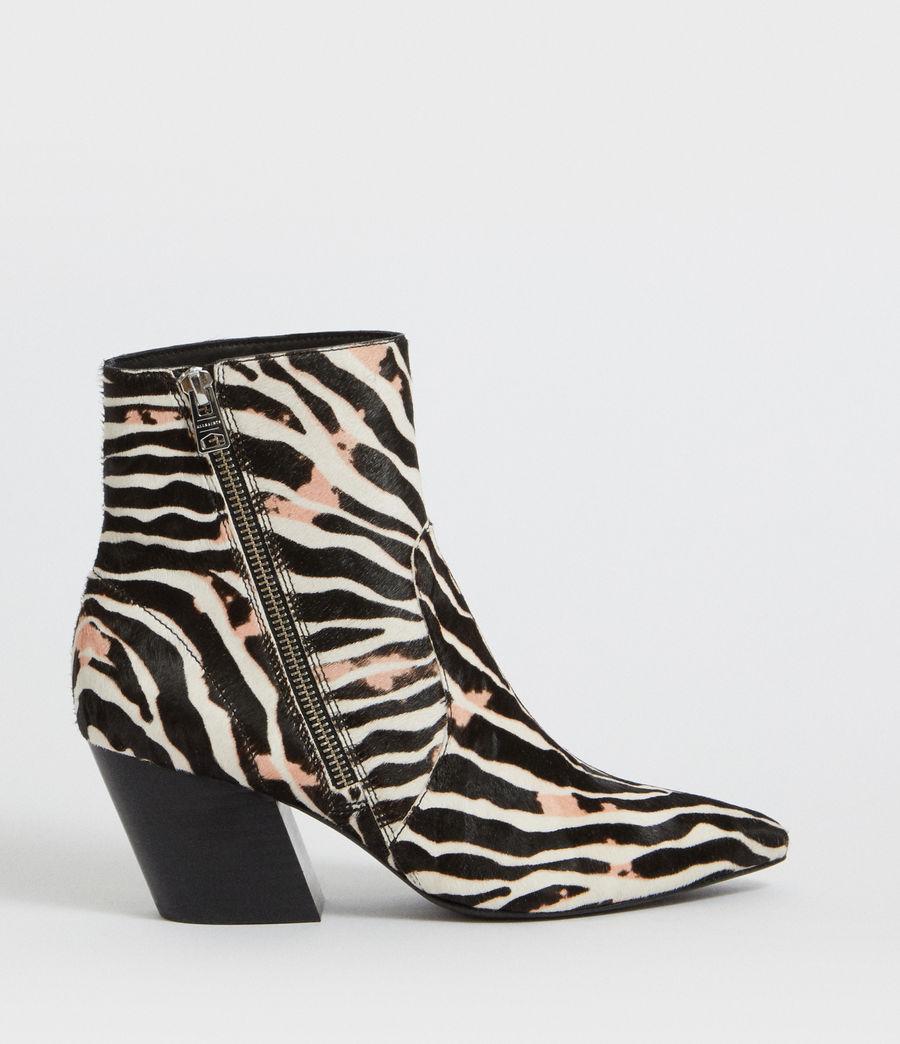 Womens Aster Zebra Boot (black_white) - Image 1