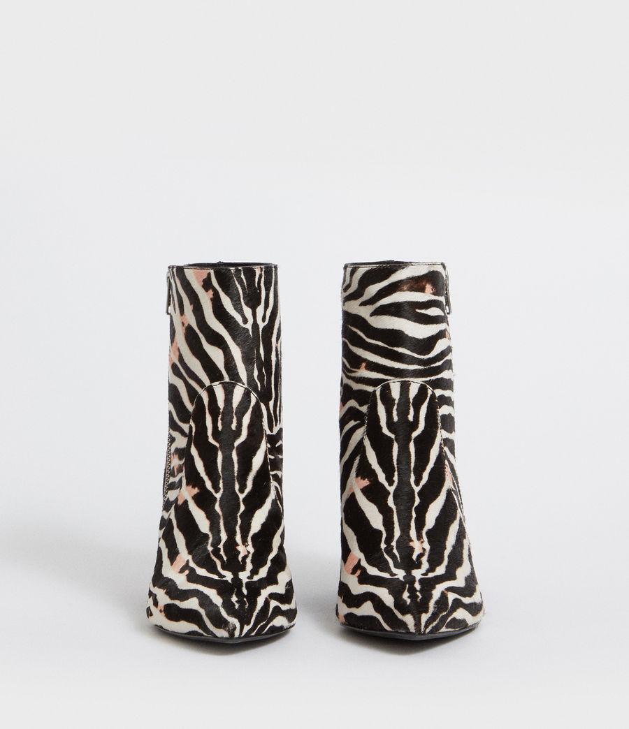 Womens Aster Zebra Boot (black_white) - Image 4