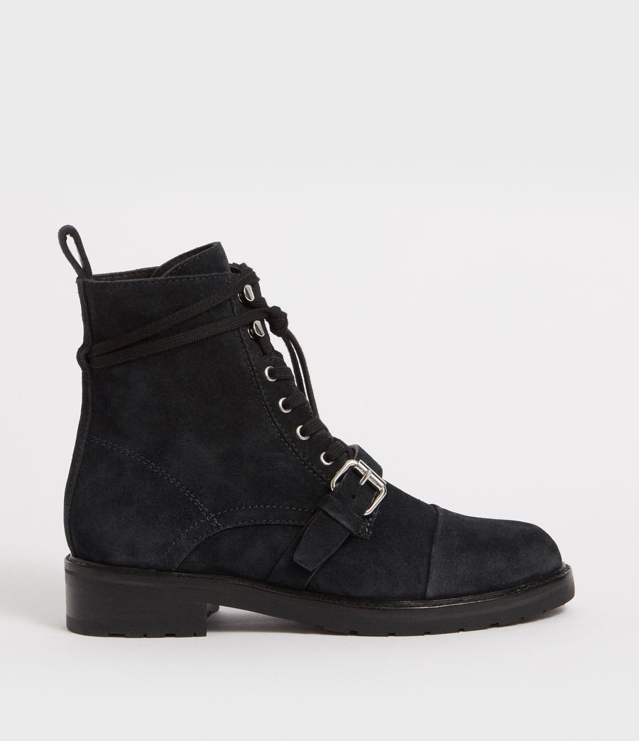 Women's Donita Suede Boot (gunmetal_grey) - Image 1