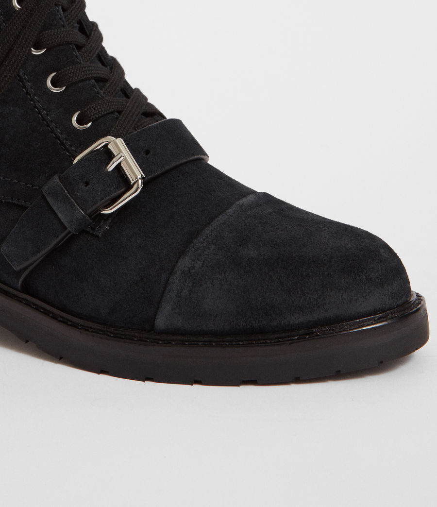 Women's Donita Suede Boot (gunmetal_grey) - Image 3
