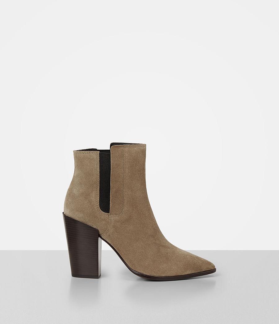 Women's Senta Suede Boot (mustard) - Image 1
