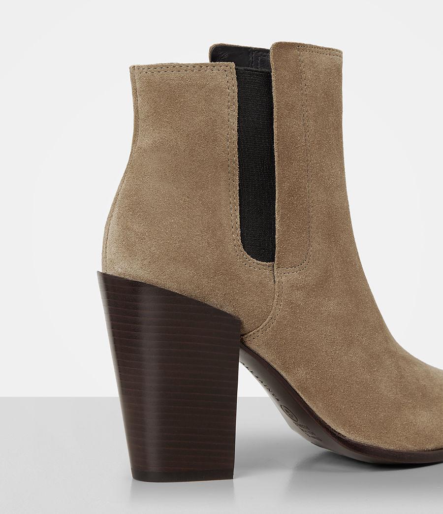 Women's Senta Suede Boot (mustard) - Image 2