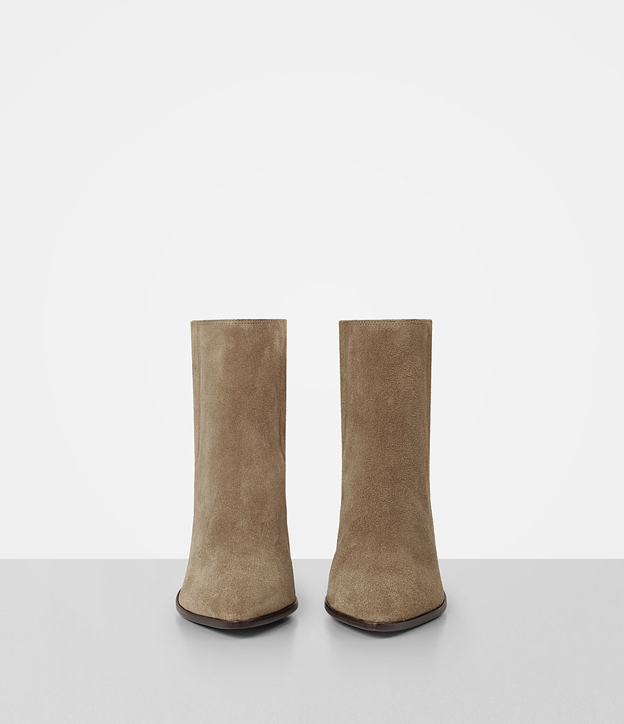 Women's Senta Suede Boot (mustard) - Image 4