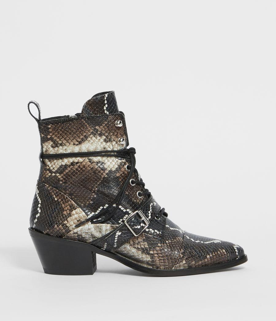 Womens Katy Snake Boot (multi) - Image 1