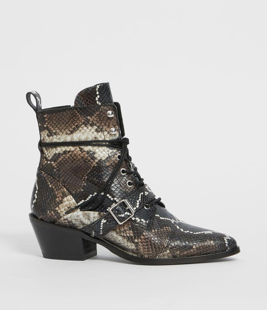 Womens Katy Snake Boot (multi) - Image 2