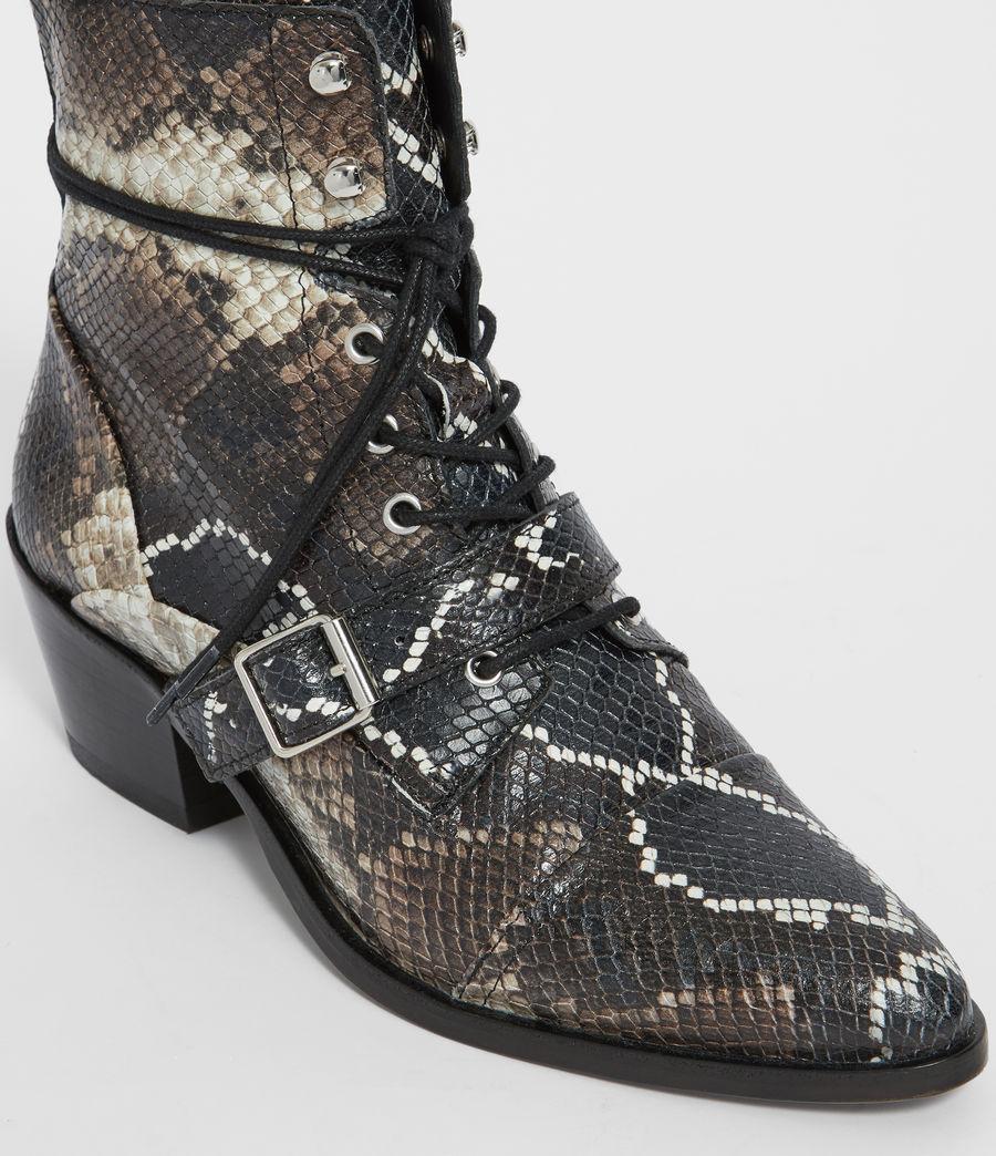 Womens Katy Snake Boot (multi) - Image 3
