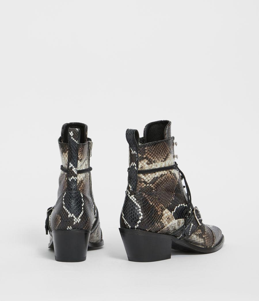 Womens Katy Snake Boot (multi) - Image 5