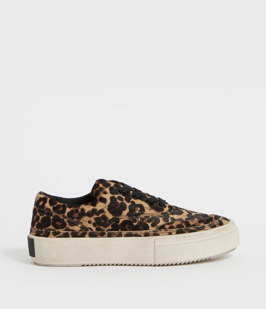 Womens Mercia Leopard Sneaker (leopard_brown) - Image 1