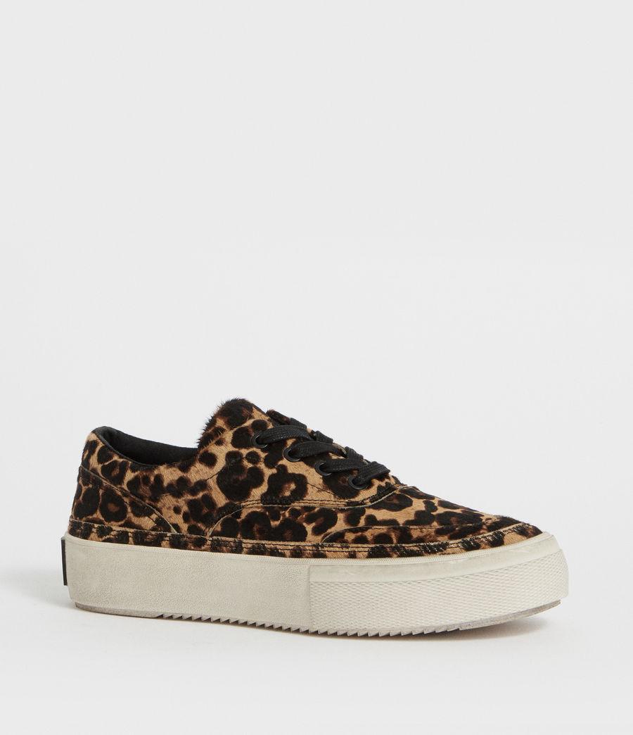 Womens Mercia Leopard Sneaker (leopard_brown) - Image 2