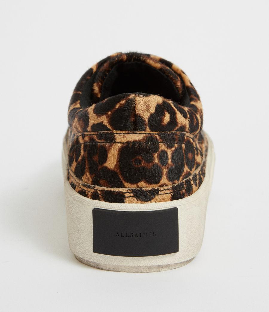 Womens Mercia Leopard Sneaker (leopard_brown) - Image 3