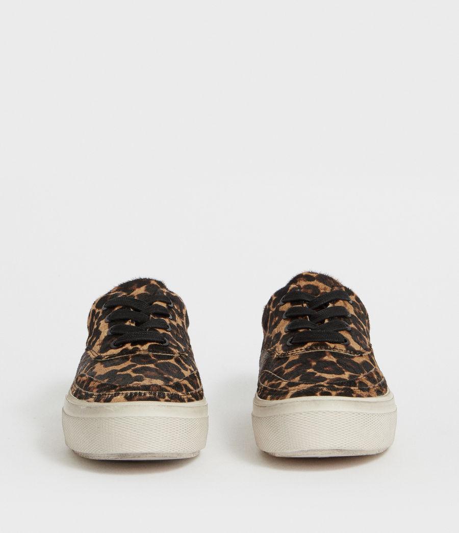 Womens Mercia Leopard Sneaker (leopard_brown) - Image 4