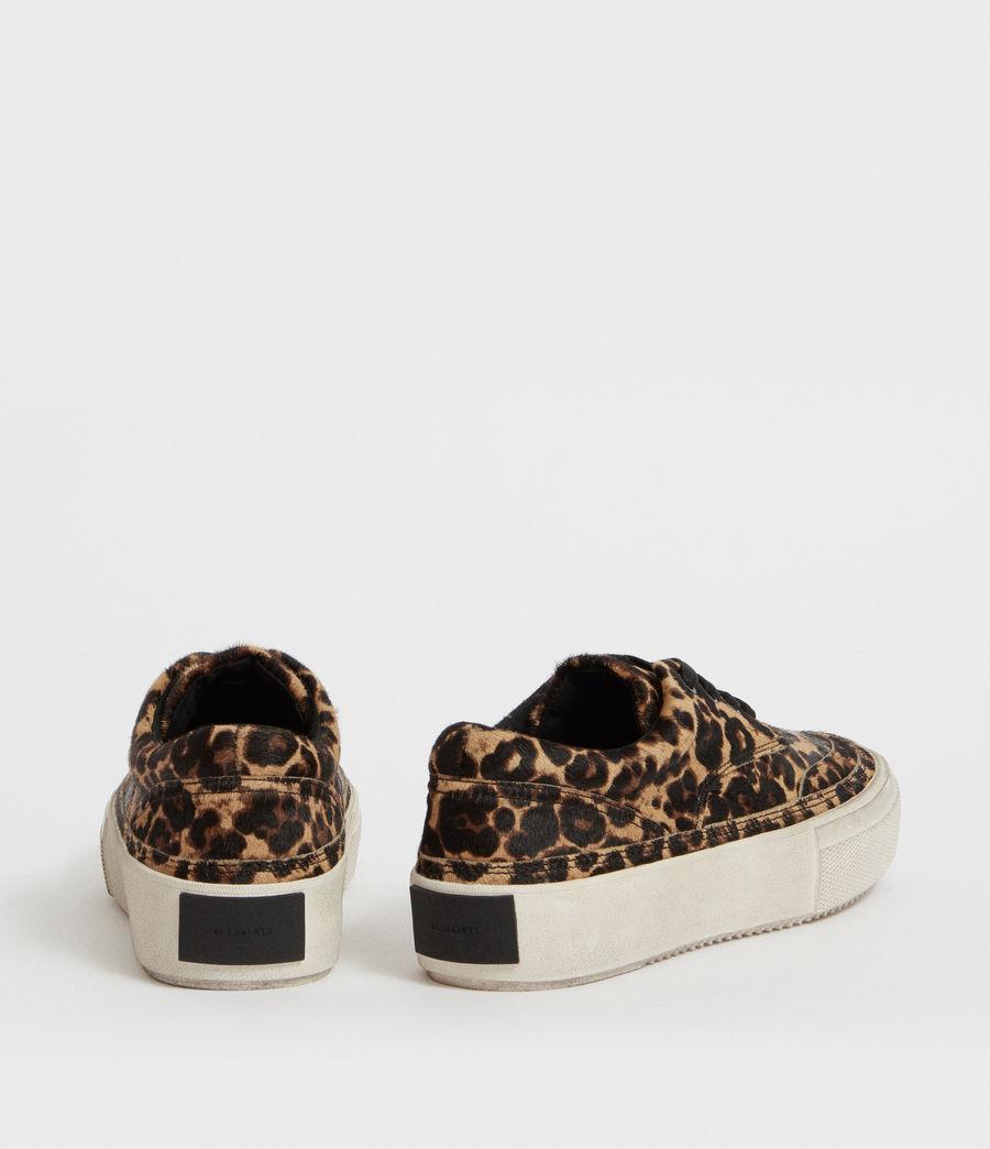 Womens Mercia Leopard Sneaker (leopard_brown) - Image 5
