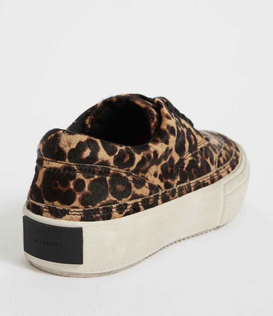 Womens Mercia Leopard Sneaker (leopard_brown) - Image 6
