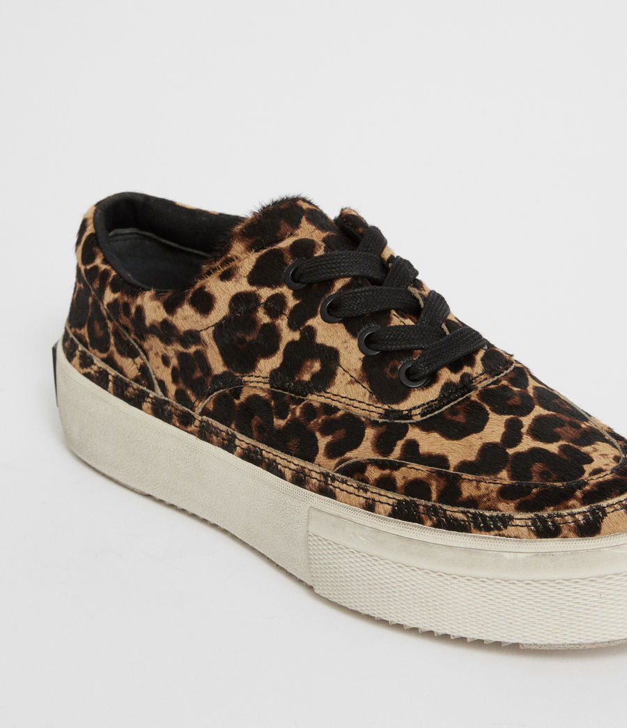 Womens Mercia Leopard Sneaker (leopard_brown) - Image 7