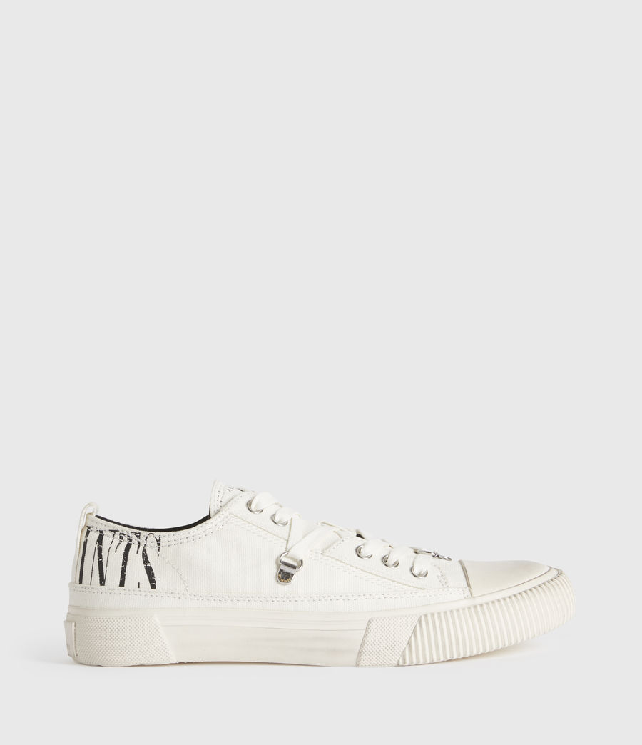 Mujer Jazmin Stamp Low Top Sneakers (white) - Image 1