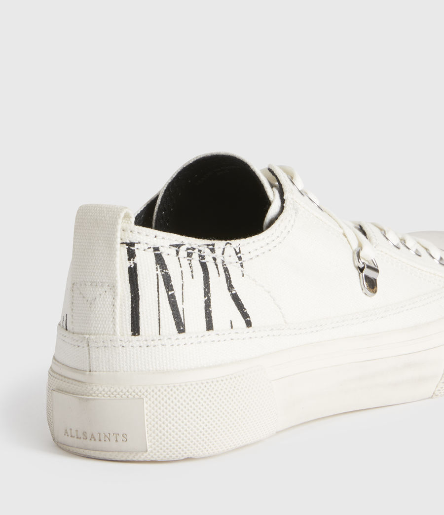 Mujer Jazmin Stamp Low Top Sneakers (white) - Image 2