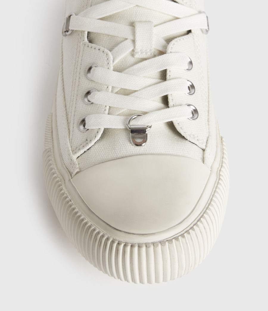 Mujer Jazmin Stamp Low Top Sneakers (white) - Image 4