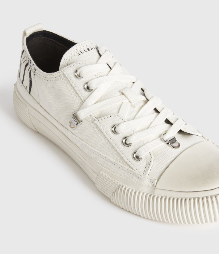 Mujer Jazmin Stamp Low Top Sneakers (white) - Image 5