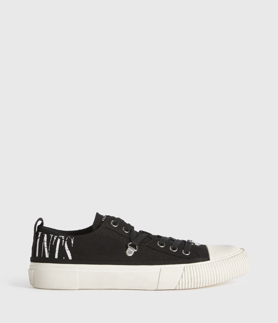 Mujer Jazmin Stamp Low Top Sneakers (black) - Image 1