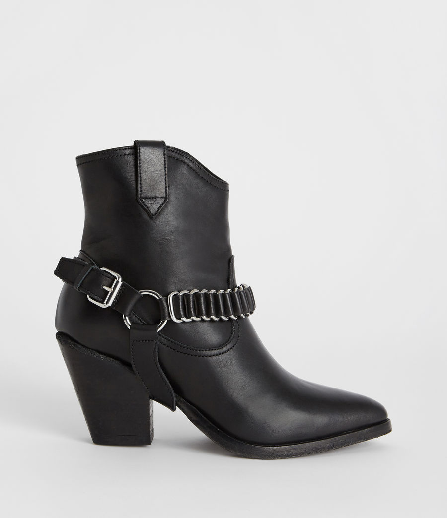 Womens Rolene Strap Boot (black) - Image 1