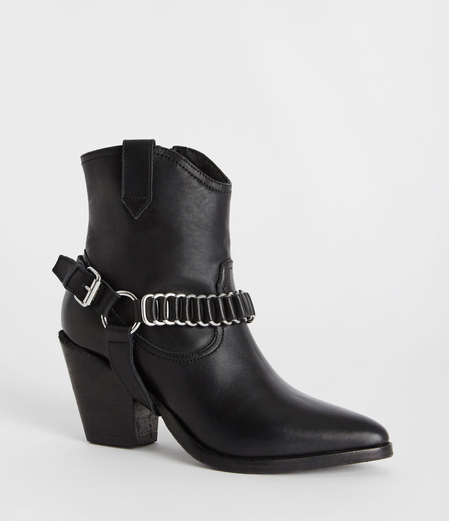 Womens Rolene Strap Boot (black) - Image 2