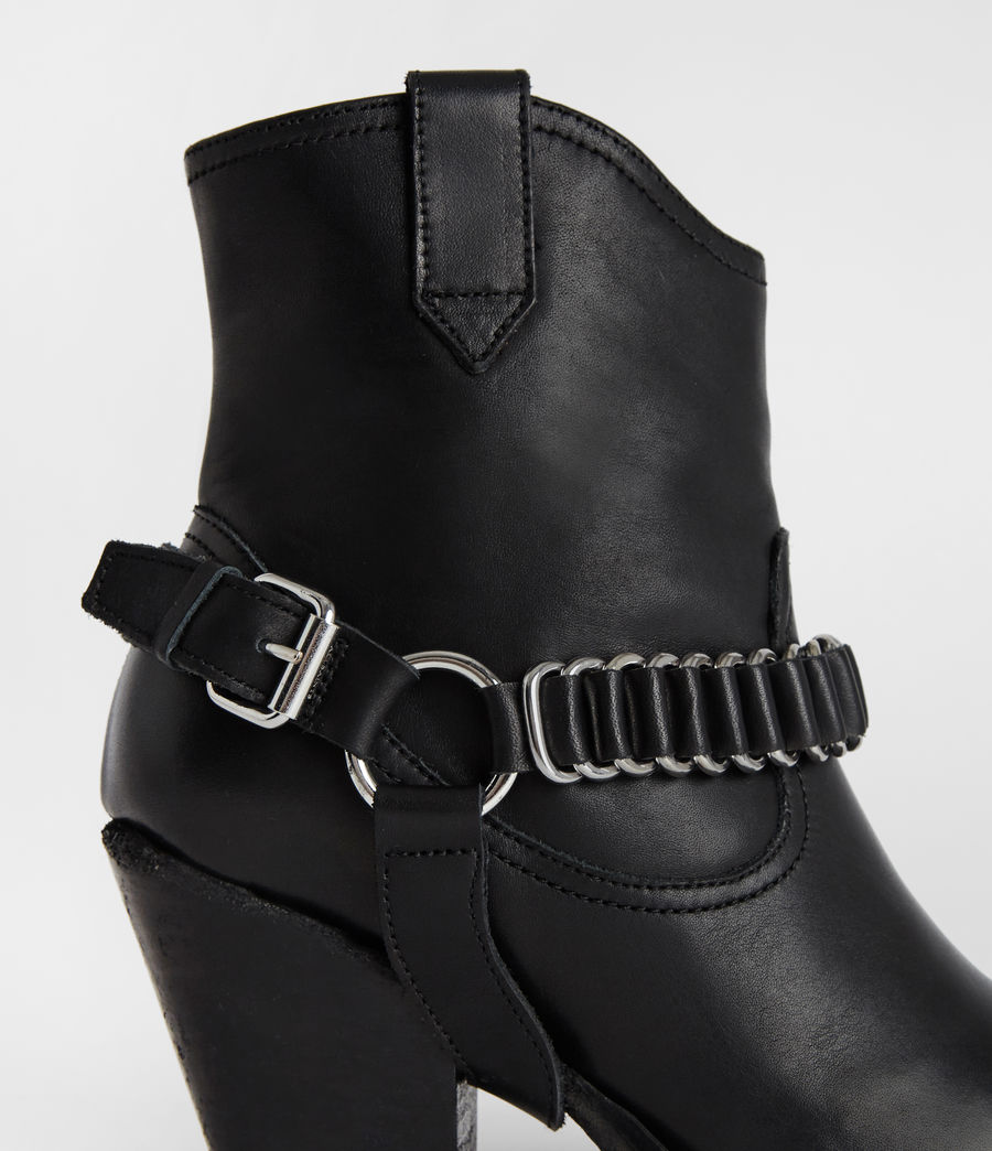 Womens Rolene Strap Boot (black) - Image 3