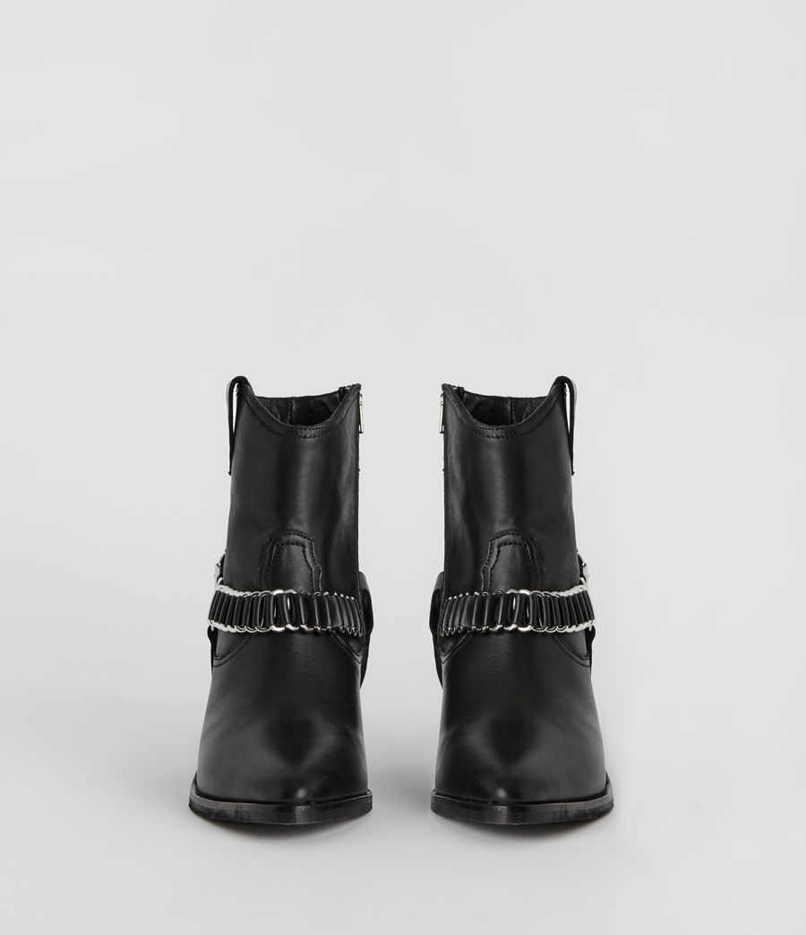 Womens Rolene Strap Boot (black) - Image 4