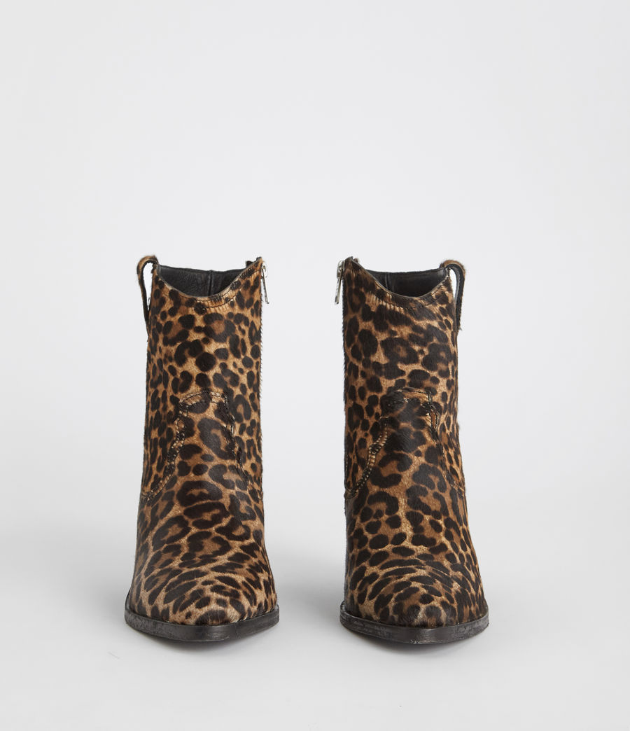 Women's Rolene Leopard Boot (leopard_brown) - Image 4