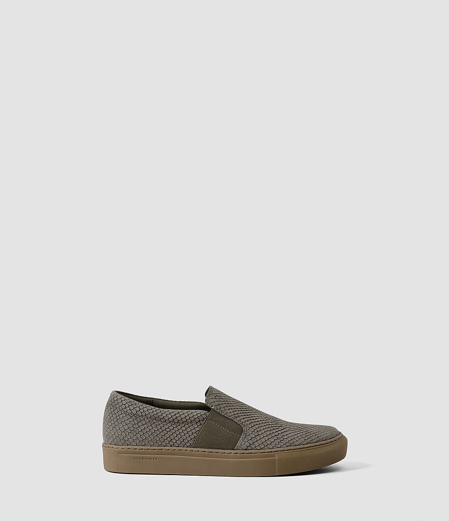 Women's S-99 Slip On Trainers (caribou_suedesnake) - Image 1