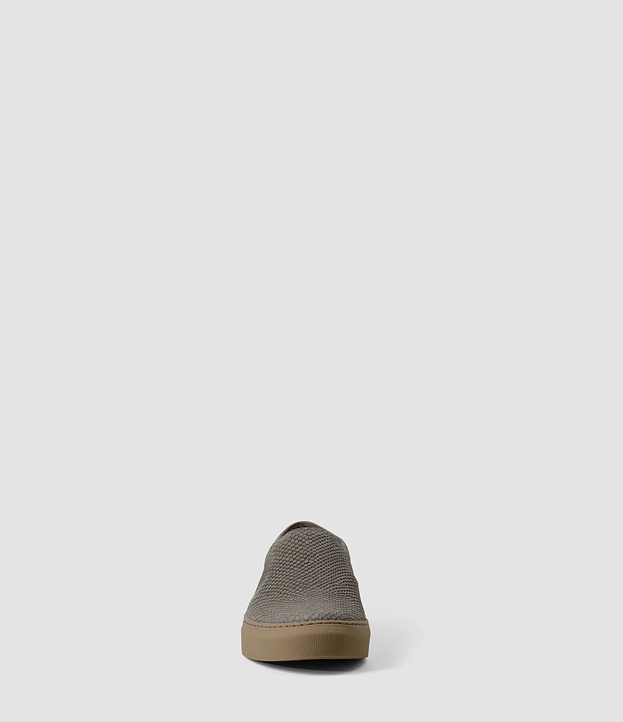 Women's S-99 Slip On Trainers (caribou_suedesnake) - Image 2