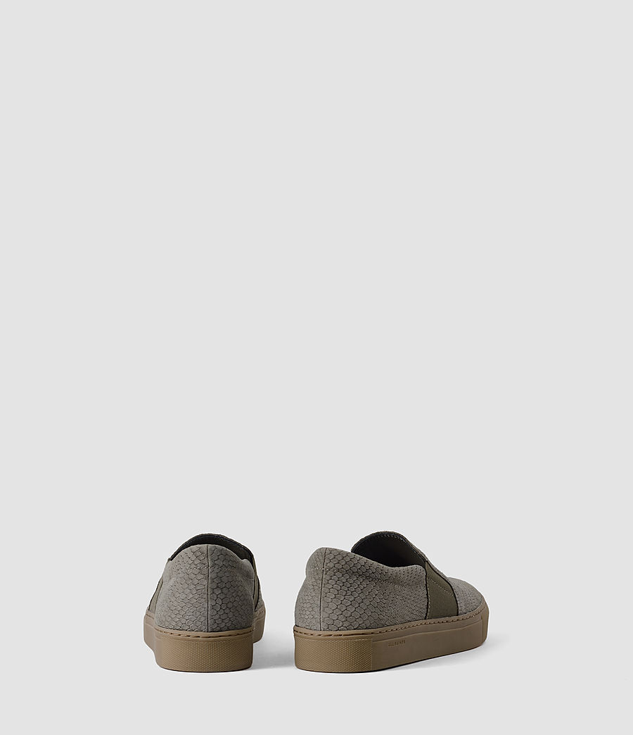 Women's S-99 Slip On Trainers (caribou_suedesnake) - Image 3