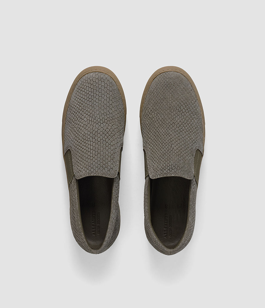 Women's S-99 Slip On Trainers (caribou_suedesnake) - Image 4