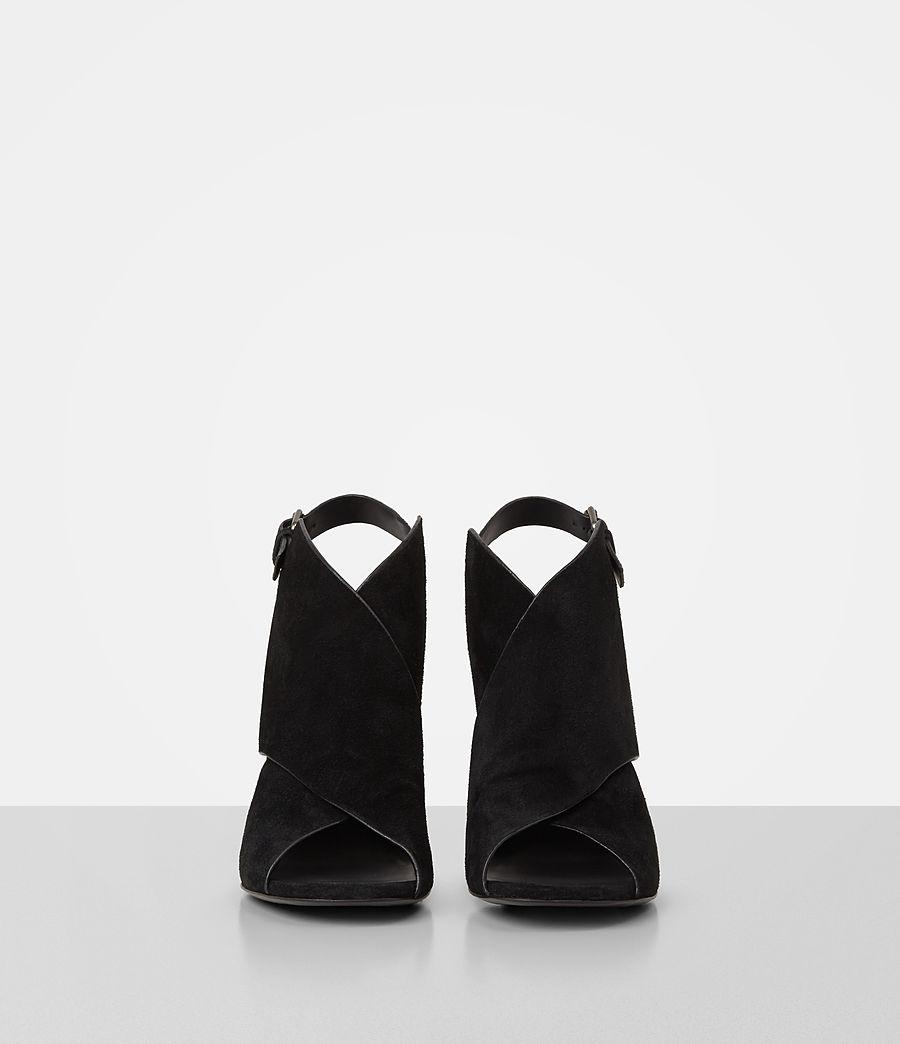 Donne Ulla Suede Sandal (black) - Image 4