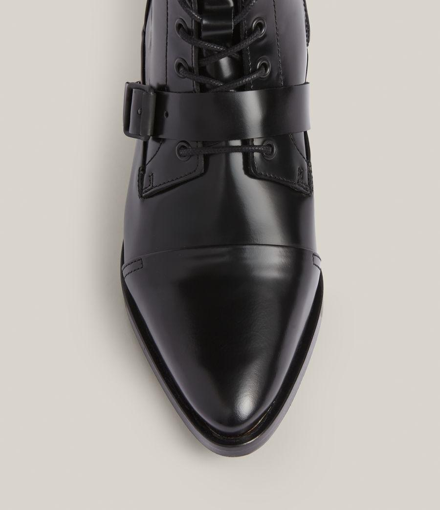 Women's Katy Poli Leather Boots (black) - Image 3