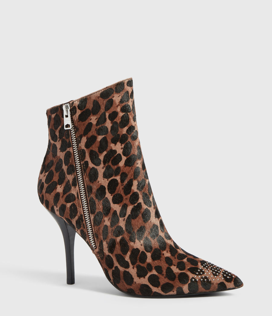 Womens Valeria Leopard Boot (leopard) - Image 3