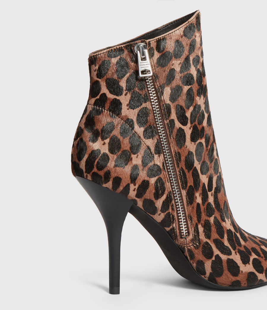 Womens Valeria Leopard Boot (leopard) - Image 4