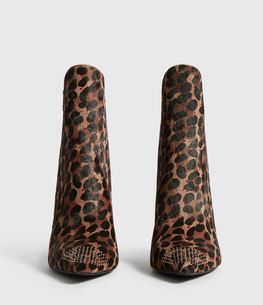 Womens Valeria Leopard Boot (leopard) - Image 5