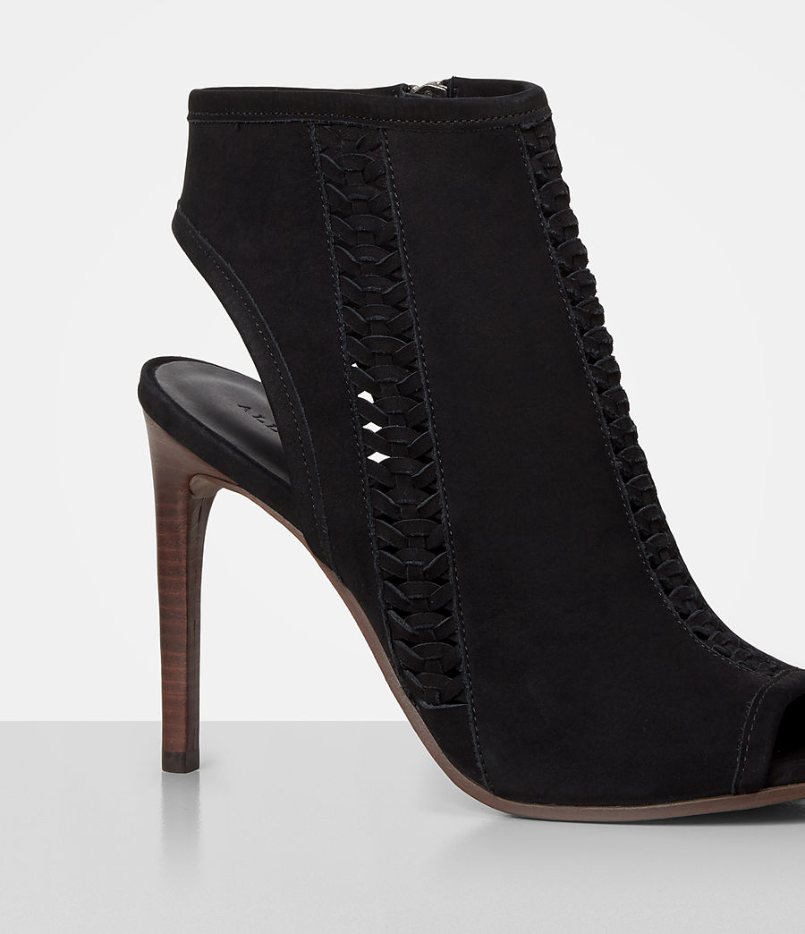 Mujer Vibrant Ankle Boot (black) - Image 2
