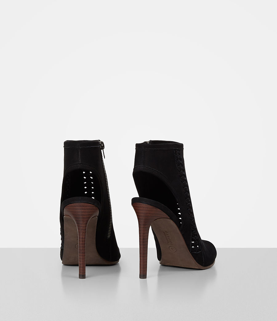 Mujer Vibrant Ankle Boot (black) - Image 5
