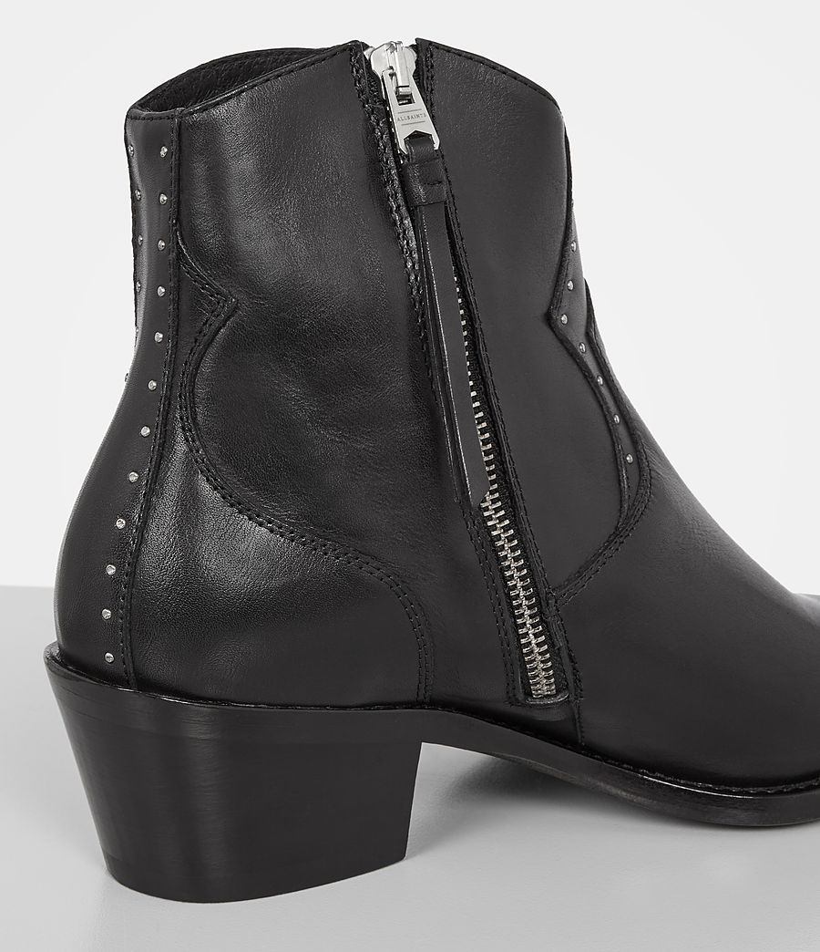 Womens Melanie Boot (black) - Image 2